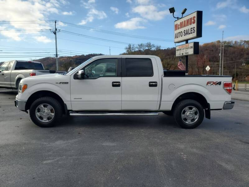 2012 Ford F-150 for sale at MCMANUS AUTO SALES in Knoxville TN