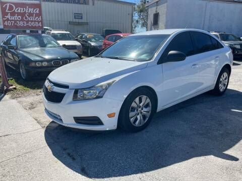 2014 Chevrolet Cruze for sale at DAVINA AUTO SALES in Casselberry FL