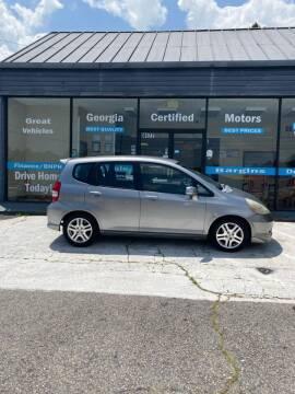 2007 Honda Fit for sale at Georgia Certified Motors in Stockbridge GA