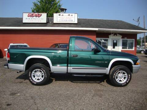 2002 Dodge Dakota for sale at G and G AUTO SALES in Merrill WI
