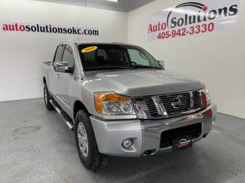 2009 Nissan Titan for sale at Auto Solutions in Warr Acres OK