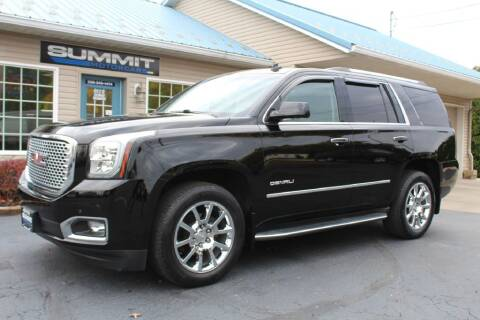 2015 GMC Yukon for sale at Summit Motorcars in Wooster OH