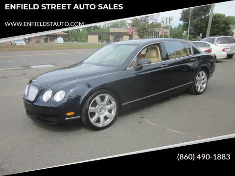 2006 Bentley Continental for sale at ENFIELD STREET AUTO SALES in Enfield CT