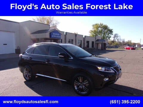2015 Lexus RX 350 for sale at Floyd's Auto Sales Forest Lake in Forest Lake MN