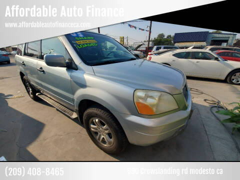2003 Honda Pilot for sale at Affordable Auto Finance in Modesto CA