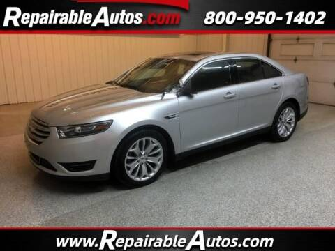 2017 Ford Taurus for sale at Ken's Auto in Strasburg ND