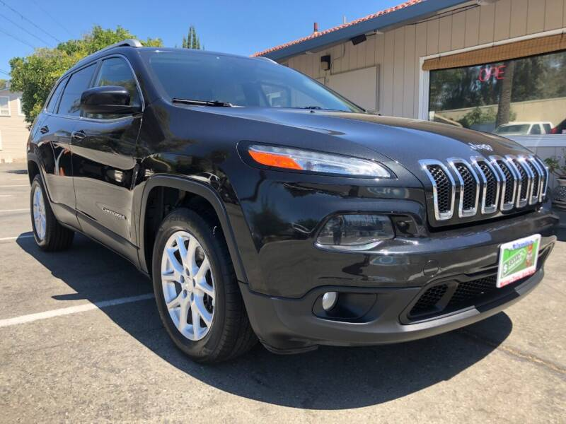 2015 Jeep Cherokee for sale at Martinez Truck and Auto Sales in Martinez CA