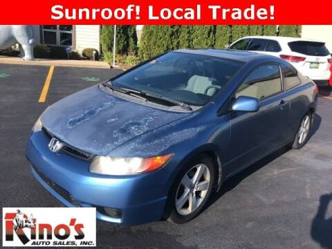 2006 Honda Civic for sale at Rino's Auto Sales in Celina OH