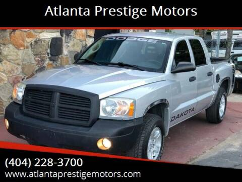 2007 Dodge Dakota for sale at Atlanta Prestige Motors in Decatur GA