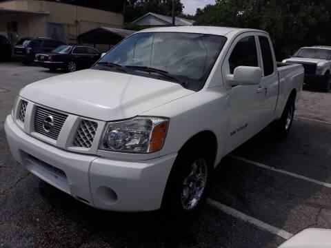 2005 Nissan Titan for sale at U-Safe Auto Sales in Deland FL