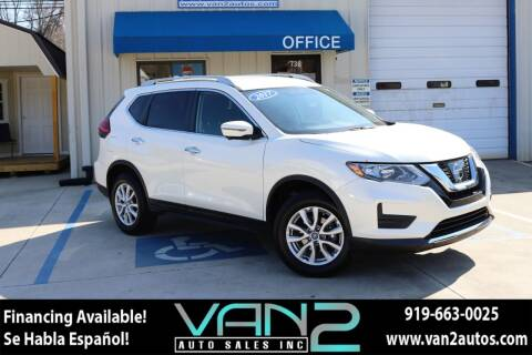 2017 Nissan Rogue for sale at Van 2 Auto Sales Inc in Siler City NC
