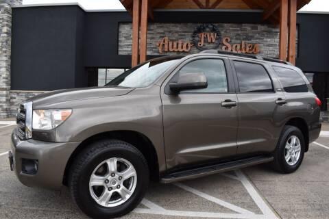 2008 Toyota Sequoia for sale at JW Auto Sales LLC in Harrisonburg VA
