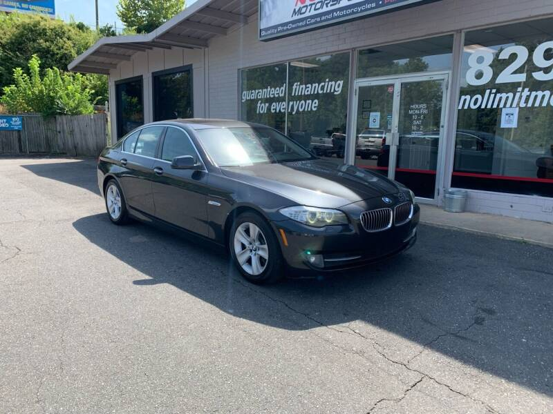 2011 BMW 5 Series for sale at NO LIMIT MOTORSPORTS in Belmont NC