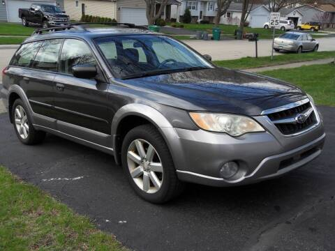 2009 Subaru Outback for sale at GLOBAL AUTOMOTIVE in Gages Lake IL