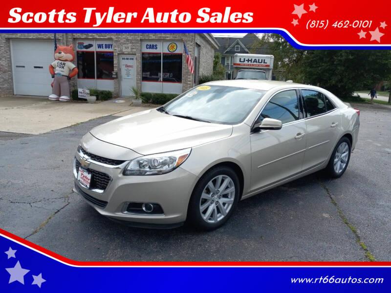 2015 Chevrolet Malibu for sale at Scotts Tyler Auto Sales in Wilmington IL