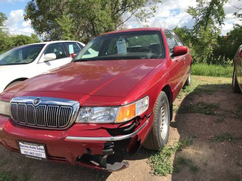 2000 Mercury Grand Marquis for sale at BARNES AUTO SALES in Mandan ND