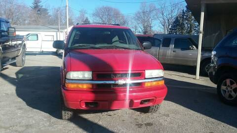 2004 Chevrolet Blazer for sale at Long Motor Sales in Tecumseh MI