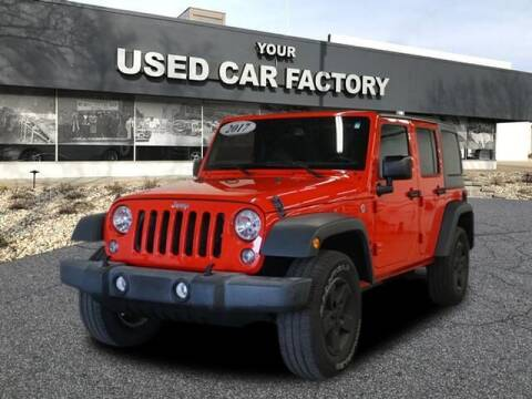 2017 Jeep Wrangler Unlimited for sale at JOELSCARZ.COM in Flushing MI