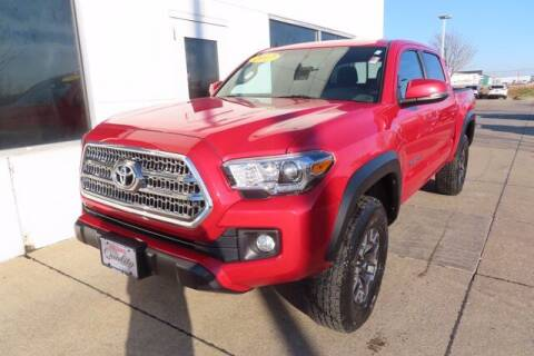 2017 Toyota Tacoma for sale at HILAND TOYOTA in Moline IL
