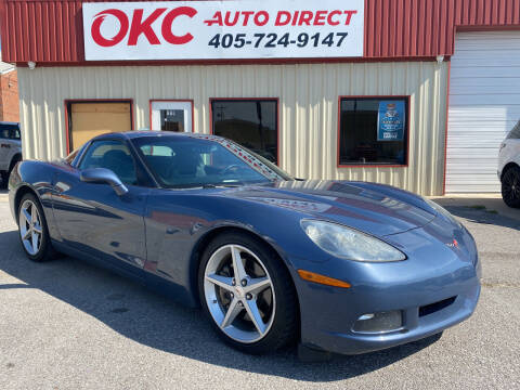 2012 Chevrolet Corvette for sale at OKC Auto Direct, LLC in Oklahoma City OK