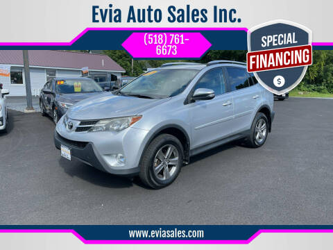 2015 Toyota RAV4 for sale at Evia Auto Sales Inc. in Glens Falls NY