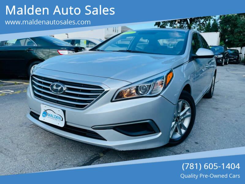2017 Hyundai Sonata for sale at Malden Auto Sales in Malden MA