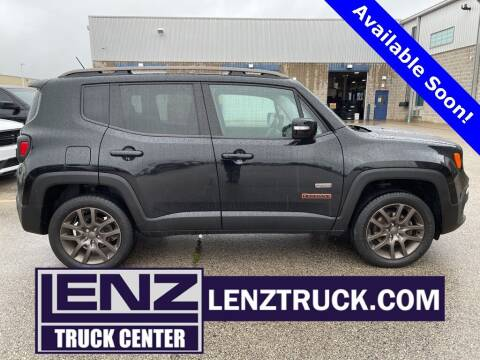 2016 Jeep Renegade for sale at LENZ TRUCK CENTER in Fond Du Lac WI