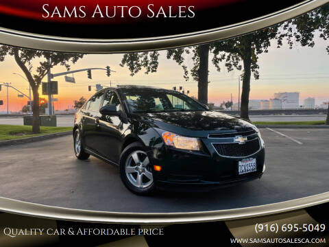 2014 Chevrolet Cruze for sale at Sams Auto Sales in North Highlands CA