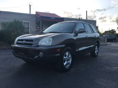 2006 Hyundai Santa Fe for sale at Saipan Auto Sales in Houston TX
