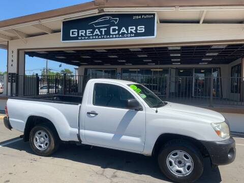 2011 Toyota Tacoma for sale at Great Cars in Sacramento CA