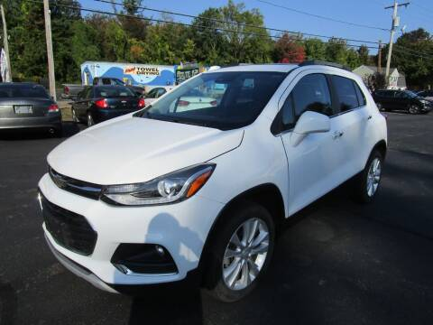 2018 Chevrolet Trax for sale at Route 12 Auto Sales in Leominster MA