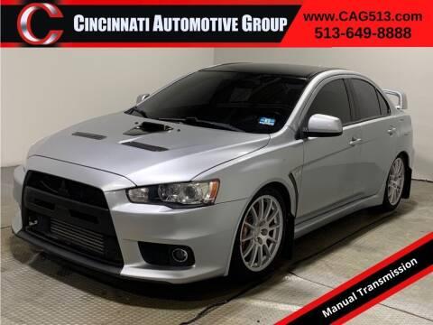2008 Mitsubishi Lancer Evolution for sale at Cincinnati Automotive Group in Lebanon OH