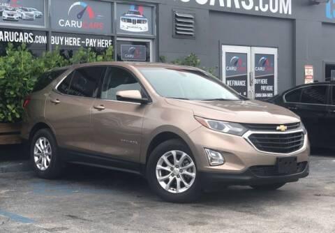 2019 Chevrolet Equinox for sale at CARUCARS LLC in Miami FL