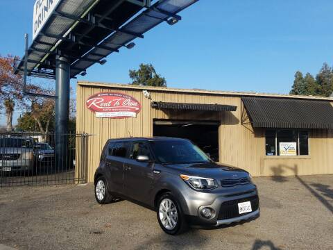 2018 Kia Soul for sale at Rent To Own Auto Showroom LLC - Finance Inventory in Modesto CA