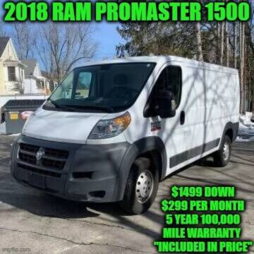 2018 RAM ProMaster Cargo for sale at D&D Auto Sales, LLC in Rowley MA