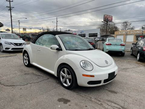 2007 Volkswagen New Beetle Convertible for sale at Green Ride Inc in Nashville TN