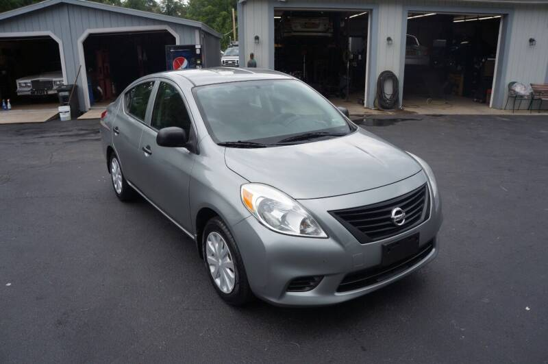 2012 Nissan Versa for sale at Autos By Joseph Inc in Highland NY