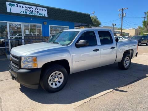 2013 Chevrolet Silverado 1500 for sale at Island Auto Sales in Colorado Springs CO