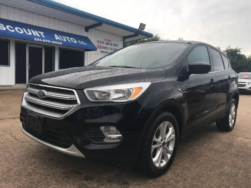 2017 Ford Escape for sale at Discount Auto Company in Houston TX