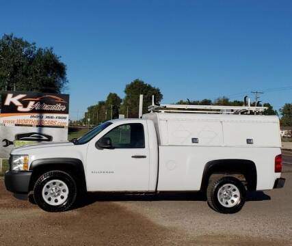 2012 Chevrolet Silverado 1500 for sale at KJ Automotive in Worthing SD