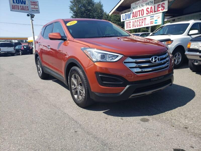 2015 Hyundai Santa Fe Sport for sale at Low Auto Sales in Sedro Woolley WA