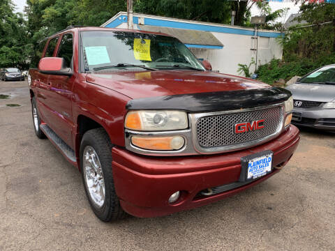2002 GMC Yukon XL for sale at New Plainfield Auto Sales in Plainfield NJ