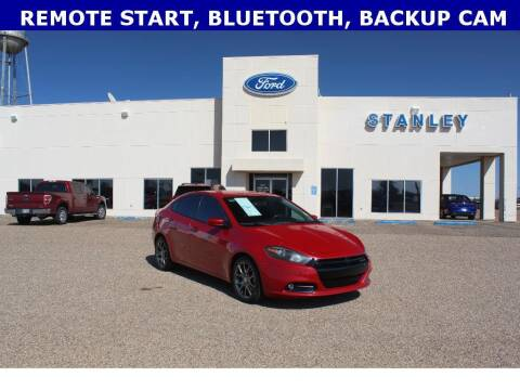 2013 Dodge Dart for sale at STANLEY FORD ANDREWS in Andrews TX