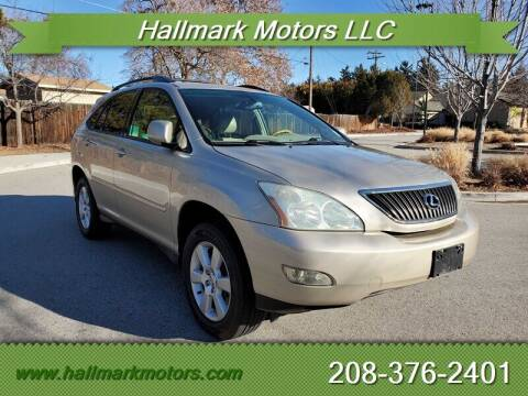2005 Lexus RX 330 for sale at HALLMARK MOTORS LLC in Boise ID