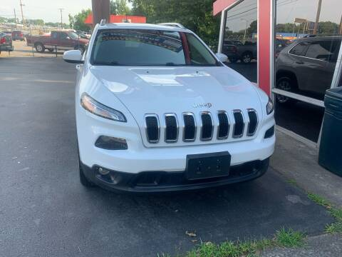 2016 Jeep Cherokee for sale at Car Connection in Little Rock AR