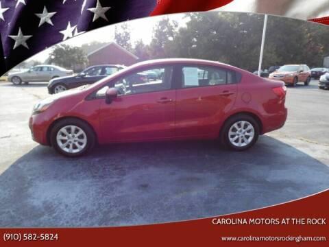 2013 Kia Rio for sale at Carolina Motors at the Rock - Carolina Motors-Thomasville in Thomasville NC
