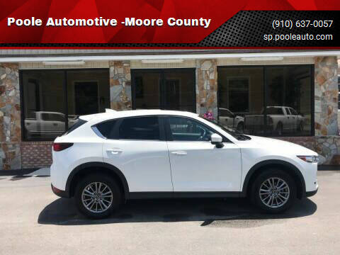 2017 Mazda CX-5 for sale at Poole Automotive in Laurinburg NC