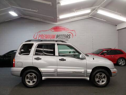 2003 Chevrolet Tracker for sale at Premium Motors in Villa Park IL