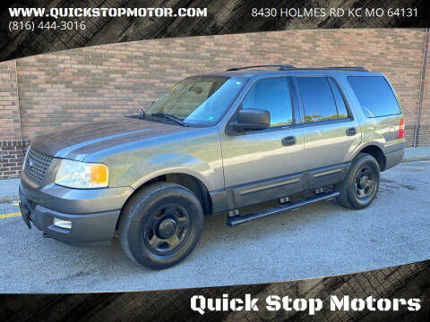 2004 Ford Expedition for sale at Quick Stop Motors in Kansas City MO