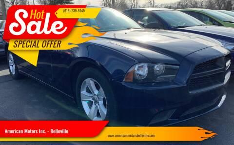 2014 Dodge Charger for sale at American Motors Inc. - Belleville in Belleville IL
